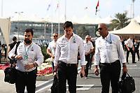 1st December 2019; Yas Marina Circuit, Abu Dhabi, United Arab Emirates; Formula 1 Abu Dhabi Grand Prix, race day; Toto Wolff, Executive Director and Head of Mercedes Benz Motorsport - Editorial Use