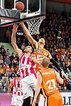 05.01.2020, ratiopharm arena, Neu-Ulm, GER, BBL, ratiopharm ulm vs Telekom Baskets Bonn, <br /> im Bild Kampf um den Rebound, Bojan Subotic (Bonn, #7), Gavin Schilling (Ulm, #34), Seth Hinrichs (Ulm, #21)<br />   <br /> Foto © nordphoto / Hafner