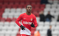 Ibrahima Diallo of AS Monaco FC Youth during the UEFA Youth League round of 16 match between Tottenham Hotspur U19 and Monaco at Lamex Stadium, Stevenage, England on 21 February 2018. Photo by Andy Rowland.