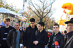 The Wanted and Al Roker at the 86th Annual Macy's Thanksgiving Day Parade on November 22, 2012 in New York City, New York. (Photo by Sue Coflin/Max Photos)