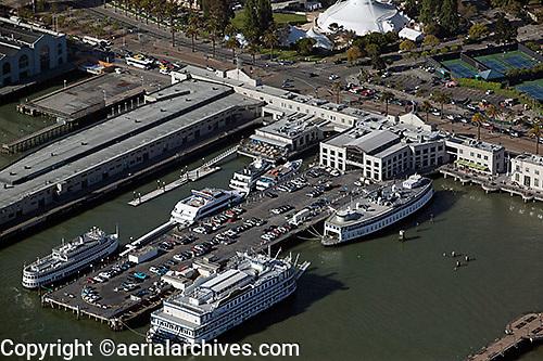 aerial photograph Pier 3 San Francisco, California