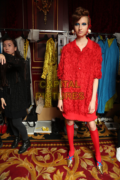 UNDERCOVER <br /> backstage at Spring/Summer 2018 Ready-to-Wear Fashion Show at Paris Fashion Week in Paris, France in September 2017.<br /> CAP/GOL<br /> &copy;GOL/Capital Pictures