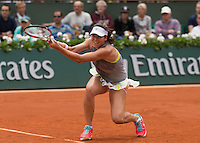AJLA TOMLJANOVIC (CRO)<br /> <br /> Tennis - French Open 2014 -  Toland Garros - Paris -  ATP-WTA - ITF - 2014  - France <br /> 6th June 2014. <br /> <br /> &copy; AMN IMAGES