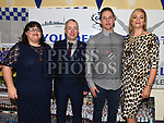 Liam and Jayne Healy, Ronan and Maura Quinn at the Team Carrie presentation night held in the Grove hotel Dunleer. Photo:Colin Bell/pressphotos.ie