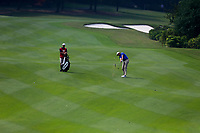 Patton Kizzire (USA) on the 8th fairway during the 2nd round at the WGC HSBC Champions 2018, Sheshan Golf CLub, Shanghai, China. 26/10/2018.<br /> Picture Fran Caffrey / Golffile.ie<br /> <br /> All photo usage must carry mandatory copyright credit (&copy; Golffile | Fran Caffrey)