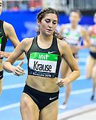 2nd February 2019, Karlsruhe, Germany;  3000m women: Gesa Felicitas Krause (GER). IAAF Indoor athletics meeting, Karlsruhe