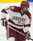 Eddie Ellis (Harvard - 7) - The Harvard University Crimson tied the visiting Dartmouth College Big Green 3-3 in both team's first game of the season on Saturday, November 1, 2014, at Bright-Landry Hockey Center in Cambridge, Massachusetts.