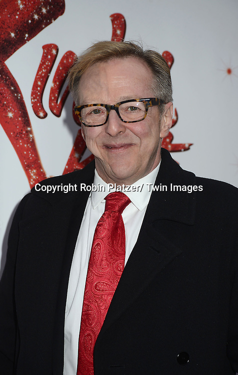 "Eddie Hibbert arrives at the ""Kinky Boots"" Broadway Opening on April 4, 2013 at The Al Hirschfeld Theatre in New York City. Harvey Fierstein wrote is the Book Writer and Cnydi Lauper is the Composer."