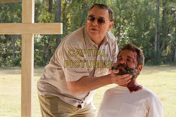 Gene Jones &amp; AJ Bowen<br /> in The Sacrament (2013) <br /> *Filmstill - Editorial Use Only*<br /> CAP/NFS<br /> Image supplied by Capital Pictures