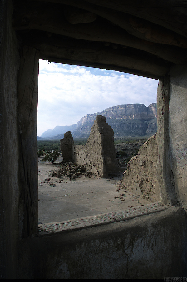 Ruins in Big Bend National Park, Texas.