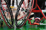 General view, <br /> SEPTEMBER 8, 2016 - Wheelchair Basketball : <br /> Preliminary Round Group A<br /> match between Turkey 65-49 Japan<br /> at Carioca Arena 1<br /> during the Rio 2016 Paralympic Games in Rio de Janeiro, Brazil.<br /> (Photo by AFLO SPORT)