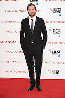 "Armie Hammer<br /> at the London Film Festival 2016 premiere of ""Nocturnal Animals"" at the Odeon Leicester Square, London.<br /> <br /> <br /> ©Ash Knotek  D3179  14/10/2016"
