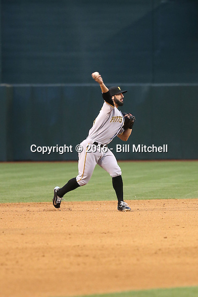 Sean Rodriguez - 2016 Pittsburgh Pirates (Bill Mitchell)