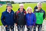 PJ Hayes, Sean Daly, Brenda Doody and Conor Culloo, pictured at the 5k walk in memory of Tony O'Donoghue, Blennerville on Sunday morning.