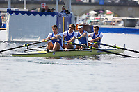 THE WYFOLD CHALLENGE CUP<br /> RTHC Bayer Leverkusen, GER (231)<br /> Putney Town R.C. (228)<br /> <br /> Henley Royal Regatta 2018 - Thursday<br /> <br /> To purchase this photo, or to see pricing information for Prints and Downloads, click the blue 'Add to Cart' button at the top-right of the page.