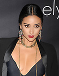 SANTA MONICA, CA- OCTOBER 18: Actress/model Shay Mitchell attends Elyse Walker presents the 10th anniversary Pink Party hosted by Jennifer Garner and Rachel Zoe at HANGAR 8 on October 18, 2014 in Santa Monica, California.