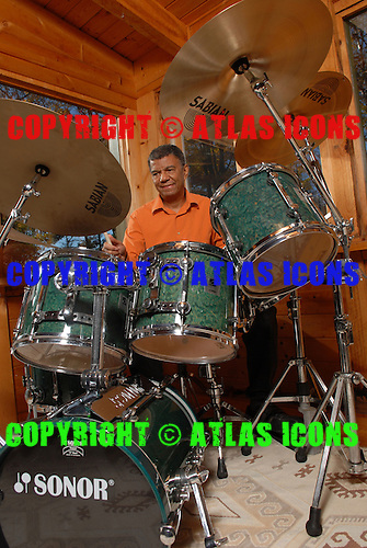 Jack DeJohnette, Studio Portrait Session at His Home, In New York State, .Photo Credit: Eddie Malluk/Atlas Icons.com