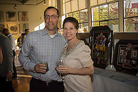 Jon Levy and Carolynn Levy attend CoachArt Children's Benefit at Terra Gallery on May 1, 2014. (Photo by Alex Shonkoff/Guest Of A Guest)
