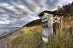 Shoreline Outhouse, Srait of Magellan, Chile Patagonia, South America