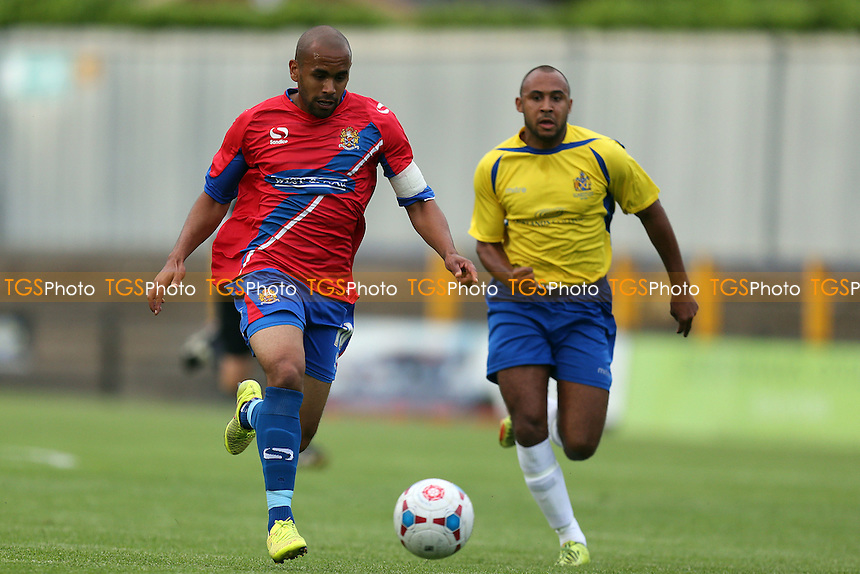 Ashley Chambers of Dagenham - St Albans City vs Dagenham and Redbridge - Pre season football at the Clarence Park Stadium - 06/07/15 - MANDATORY CREDIT: Dave Simpson/TGSPHOTO - Self billing applies where appropriate - 0845 094 6026 - contact@tgsphoto.co.uk - NO UNPAID USE