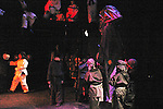 Cast of Star Wars at Philipstown Depot Theatre in Philipstown, New York on Dec. 14 and ran for two weeks. (Photo by Sue Coflin/Max Photos)