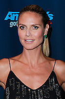 "NEW YORK, NY - SEPTEMBER 11: Heidi Klum arrives at the ""America's Got Talent"" Season 8 Red Carpet Event at Radio City Music Hall on September 11, 2013 in New York City. (Photo by Jeffery Duran/Celebrity Monitor)"