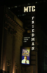 Theatre Marquee for Broadway Opening Night performance of 'The Prince of Broadway' at the Samuel J. Friedman Theatre on August 24, 2017 in New York City.