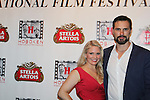 Terri Conn and husband Austin Peck (star in Jack and Diane) - Hoboken International Film Festival opening night June 3 and continuing through June 9, 2016 at the Paramount Theatre in Middletown, New York honoring Martin Kove and Danny Aiello. (Photo by Sue Coflin/Max Photos)