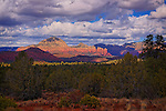 Coffee Pot Rock from Turkey Creek, near Sedona, Arizona