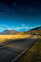 Quinag from the North Coast 500 near Inchnadamph, Sutherland, Northwest Highlands