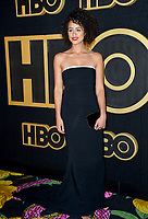 LOS ANGELES, CA. September 17, 2018: Nathalie Emmanuel at The HBO Emmy Party at the Pacific Design Centre.<br /> Picture: Paul Smith/Featureflash