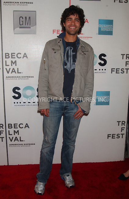 "WWW.ACEPIXS.COM . . . . .....April 25 2007, New York City....Actor Adrian Grenier arriving at the opening night premiere of ""SOS"" at the 2007 Tribeca Film Festival in downtown Manhattan.....Please byline: Kristin Callahan - ACEPIXS.COM..... *** ***..Ace Pictures, Inc:  ..Philip Vaughan (646) 769 0430..e-mail: info@acepixs.com..web: http://www.acepixs.com"