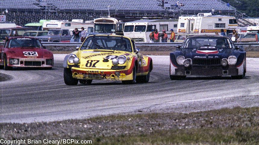 #87 Porsche 911 of  Gunter Seipolt, Gunter Hamilton, Joseph Hamilton, Ron Oyler, and Pedro Vazquez 43rd place finish, 1978 24 Hours of Daytona, Daytona International Speedway, Daytona Beach, FL, February 5, 1978.  (Photo by Brian Cleary/www.bcpix.com)