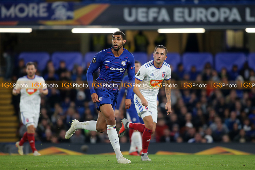 Ruben Loftus-Cheek of Chelsea during Chelsea vs MOL Vidi, UEFA Europa League Football at Stamford Bridge on 4th October 2018