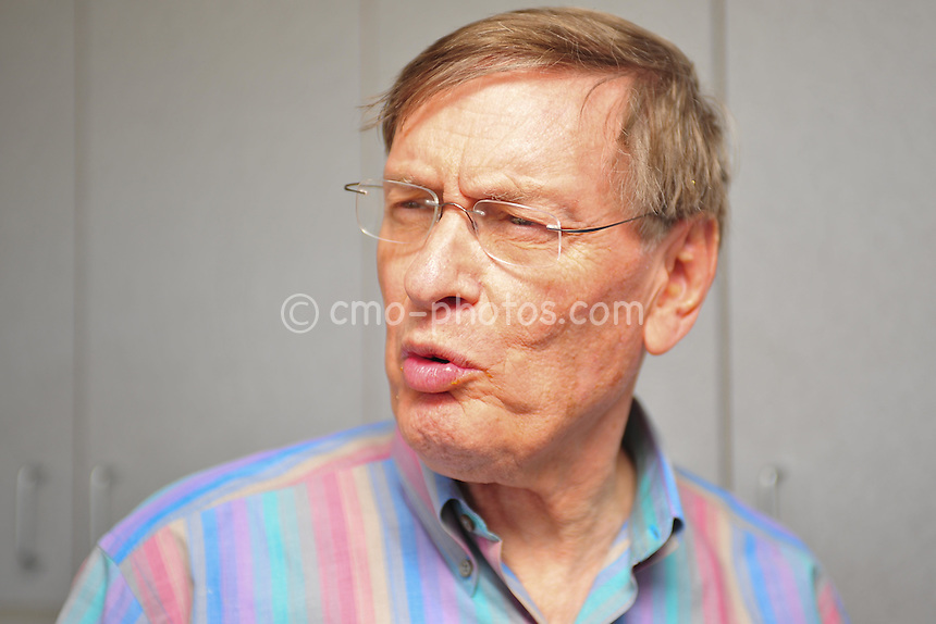 Mar 12, 2011; Tucson, AZ, USA; Commissioner of major league baseball, Bud Selig is interviewed by the media during a game between the Arizona Diamondbacks and Milwaukee Brewers at the Maryvale Baseball Park.  The Brewers won 6-4.
