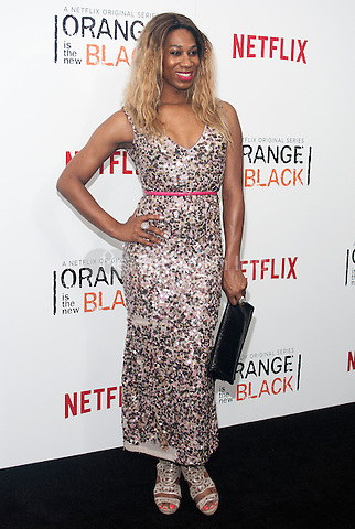 NEW YORK, NEW YORK - MAY 15, 2014:  Actress Mila Jam attends the Season 2 Premiere of 'Orange is the New Black' hosted by Netflix at The Ziegfeld Theater in New York, New York on Thursday May 15, 2014. Photo credit:RTNHargrove/MediaPunch