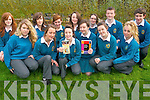 MISSING ONE Students at Mercy Mounthawk who are members of the new Ógras group at the school. .Back L-R Danielle Courtney, Mairead Leane, Ellen O'Leary,  Ciara Finnerty, Ciaran O'Conaill and Donnachadh McGarry. .Front L-R Sarah Prendergast, Carolann McMahon, Roza Karim, Grace O'Connor, Orlaith Godley and Ann Marie Mcmahon.