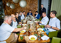Rotterdam, The Netherlands, 16 Januari 2019, ABNAMRO World Tennis Tournament, Chef's table<br /> Photo: www.tennisimages.com/Henk Koster