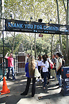 General Manager Matt Wolf gives a tour for Central Academy of Drama: Professors visiting The Summer Stage on September 25, 2017 at the The Central Park Summer Stage  in New York City.