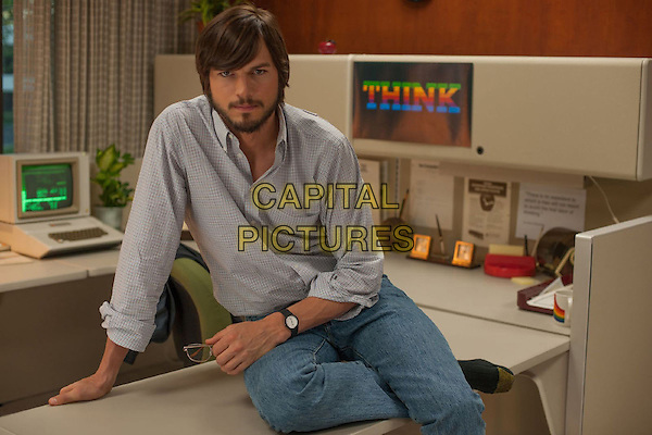 ASHTON KUTCHER <br /> in Jobs (2013) <br /> *Filmstill - Editorial Use Only*<br /> CAP/FB<br /> Image supplied by Capital Pictures