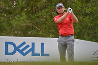 Tom Hoge (USA) watches his tee shot on 12 during day 3 of the World Golf Championships, Dell Match Play, Austin Country Club, Austin, Texas. 3/23/2018.<br /> Picture: Golffile | Ken Murray<br /> <br /> <br /> All photo usage must carry mandatory copyright credit (&copy; Golffile | Ken Murray)