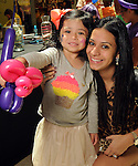 Kim McCorkle and Chloe, 3, at the MD Anderson Back to School Fashion Show at The Galleria Saturday August 17, 2013.(Dave Rossman photo)