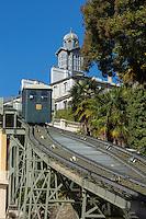 France, Aquitaine, Pyrénées-Atlantiques, Béarn, Pau: Le funiculaire  //  France, Pyrenees Atlantiques, Bearn, Pau:   the funicular