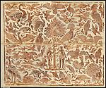 Tessuto ricamato conservato al Museo d'Arte Antica di Palazzo Madama