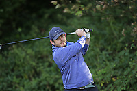 Jason McLynn (Galway Bay)  during the final of the Irish Mid-Amateur Open Championship, Royal Belfast Golf CLub, Hollywood, Down, Ireland. 29/09/2019.<br /> Picture Fran Caffrey / Golffile.ie<br /> <br /> All photo usage must carry mandatory copyright credit (© Golffile   Fran Caffrey)
