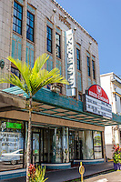 Kress Cinemas Movie Theatre, Downtown Hilo, Big Island.