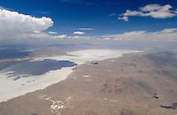 4415 / Servier Dessert: AMERIKA, VEREINIGTE STAATEN VON AMERIKA, UTAH,  (AMERICA, UNITED STATES OF AMERICA), 18.05.2006:Sevier Desert, Sevier Lake, Salzsee suedlich Salt Lake, Wueste,