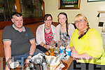 Enjoying the Fundraising Quiz night in aid of Amy at the Na Gaeil Clubhouse on Thursday were Craig Henry, Mary O'Grady, Margarite Brosna and Regina O'Connor