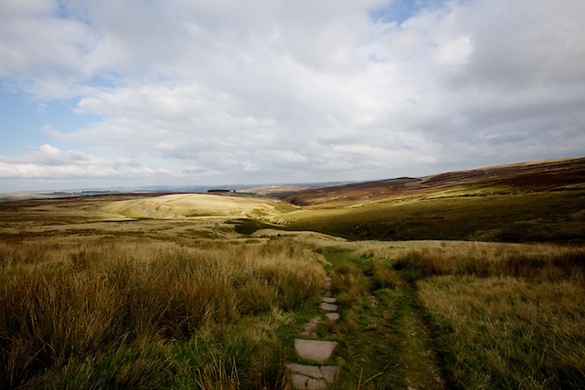 """Wuthering Heights"". Taken from the ruins of Top Witherns Farm, Bronte Country, West Yorkshire"
