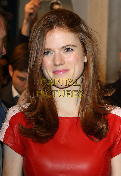 LONDON, ENGLAND -  Rose Leslie at 'People, Places and Things' - VIP opening night at Wyndhams Theatre, London on March 23rd 2016<br /> CAP/ROS<br /> &copy;Steve Ross/Capital Pictures